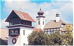 Frankenmuth MI Bavarian Inn Postcard p13465 (Image1)