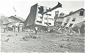 Johnstown,PA, Flood Schultz Home Postcard (Image1)