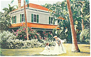 Fort Myers Fl Thomas Edison S Home Postcard P13474