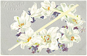 A Joyful Easter Tuck's Postcard