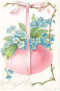 Easter Greetings Tuck s Postcard p13605 (Image1)