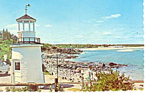 Ogunquit, Maine, Lobster Point Light Postcard p13629 (Image1)