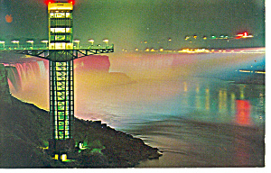 Observation Tower,Niagara Falls, Canada Postcard (Image1)