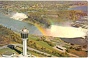 Seagrams Tower Niagara Falls Canada Postcard P13632