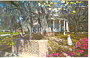 Valdosta GA The Crescent Postcard p13674 1971 (Image1)
