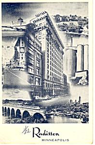 The Radisson Minneapolis MN Postcard p13690 1957 (Image1)