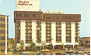 Stouffers Oakbrook Inn Illinois Postcard p13696 1967 (Image1)