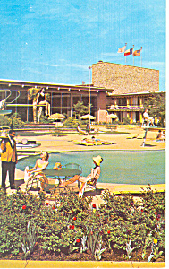 Marriott Motor Hotel Dallas Texas Postcard  p13697 1965 (Image1)
