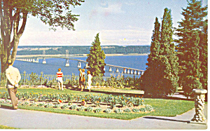 Island of Orleans Bridge Quebec,Canada Postcard (Image1)