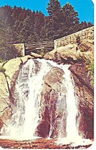 Helen Hunt Falls Cheyenne Canon CO Postcard p13727 (Image1)