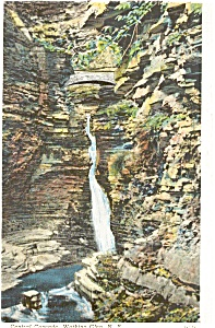 Watkins Glen Central Cascade Postcard (Image1)