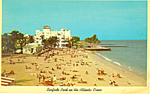 Surfside Park Miami Beach FL Postcard p13745 (Image1)