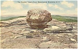 Shawangunk Mountain NY  Postcard p1376 (Image1)