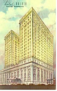 Hotel Duluth Duluth MN Postcard p13770 1965 (Image1)