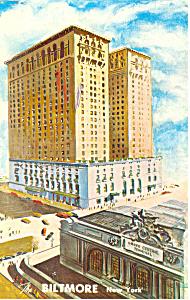 The Biltmore New York City Postcard p13771 1964 (Image1)