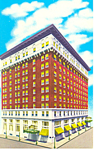 Hotel Lafayette Little Rock AR Postcard p13775 1963 (Image1)