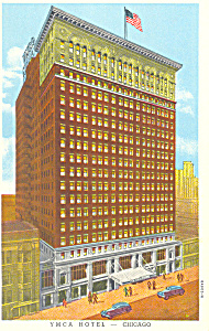 YMCA Hotel,Chicago,IL, Postcard (Image1)