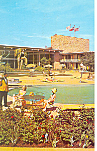 Marriott Motel Washington DC Postcard p13780 1965 (Image1)