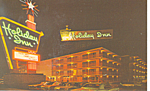 Holiday Inn Meriden CT Postcard p13796 1971 (Image1)