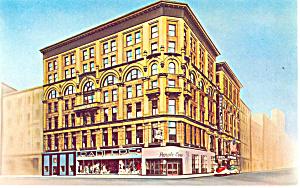 Hotel Jermyn Scranton  PA Postcard p13799 1965 (Image1)