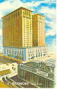 Biltmore New York City NY Postcard p13802 1965 (Image1)