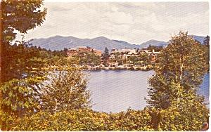 Lake Placid  NY Lake Placid Club Postcard p1385 (Image1)