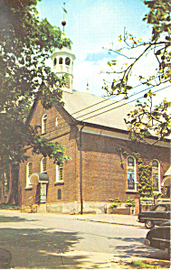 Home Moravian Church Winston Salem Nc Postcard P13875