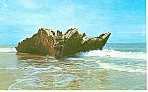 Cape Hatteras NC Atlantic Graveyard Postcard p13878 (Image1)