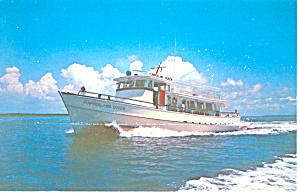 Cumberland Queen Georgia Ferry Postcard p13886 (Image1)