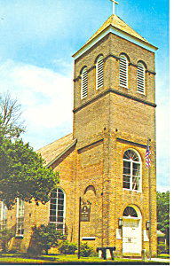 Episcopal Church, Pensacola, FL Postcard (Image1)