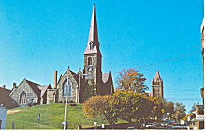 Episcopal Church Cumberland  MD Postcard p13931 (Image1)