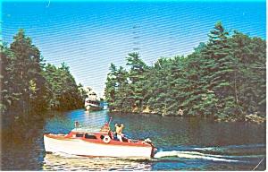 Lake George NY M V Mohican Postcard p1402 (Image1)