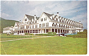 Crawford Notch NH Crawford House Postcard p14054 (Image1)