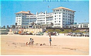 Daytona Beach FL Daytona Plaza Hotel Postcard p14092 (Image1)