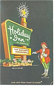 York  PA Holiday Inn Postcard p14107 1965 (Image1)