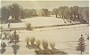 Rawlins  WY Saratoga Inn Postcard p14174 1985 (Image1)