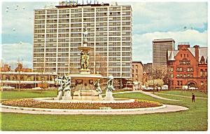 Hartford CT Hilton Hotel Postcard p14183 1973 (Image1)