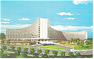 Washington Dc Washington Hilton Postcard P14192