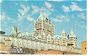 Montreal Quebec Chatteau Frontenac Hotel Scott Postcard p14203 (Image1)