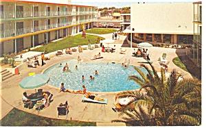 Tucson AZ Tidelands Motor Inn Postcard p14223 1967 (Image1)