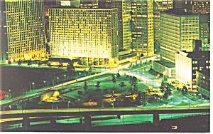 Pittsburgh PA The Pittsburgh Hilton Postcard p14227 (Image1)