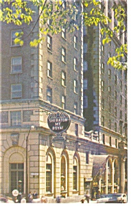 Montreal Quebec Sheraton Mt Royal Hotel Postcard p14268 1978 (Image1)