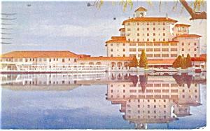 Colorado Springs CO Broadmoor Hotel Postcard p14285 1950 (Image1)