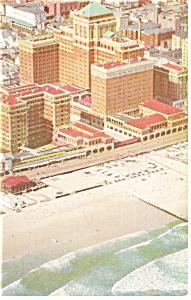 Atlantic City  NJ  Chalfonte Haddon Hall Postcard p14286 (Image1)