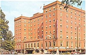 Elmira, NY, Mark Twain Hotel Postcard (Image1)