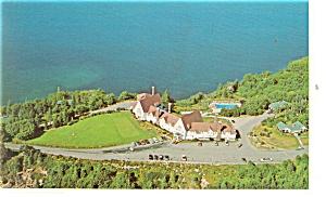 Cabot Trail Nova Scotia Keltic Lodge Postcard p14298 (Image1)