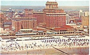 Atlantic City NJ Chalfonte Haddon Hall Postcard p14302 (Image1)
