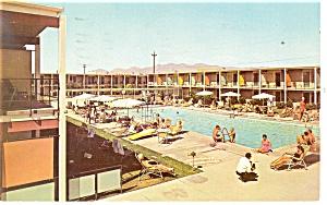 Tucson AZ Sands Hotel Postcard p14303 1962 (Image1)