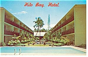 Hilo  HI   Hilo Bay Hotel Postcard p14304 (Image1)