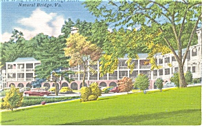 Natural Bridge VA Natural Bridge Hotel Postcard p14314 (Image1)